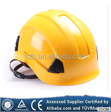 Working aloft and outdoor climbing yellow safety helmet skilling hard hat rescue safety helmet