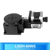 Motorized Stepper Motor Worm Gear Rotating Table LSDH-60WS