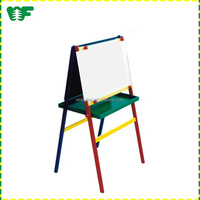 Gold supplier china kids wooden easels stand in wood