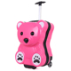 3D bear fancy ABS and pc animal kids luggage 1705#
