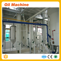 high oil yield soybean cooking crude oil refining machine line , factory refined soybean oil