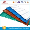 0.4mm thick ppgi metal roofing sheet, thin corrugated steel sheet