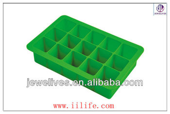 Disney Audited Foactory Foldable Custom Shaped Silicone Ice Cube Mould