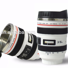 Fashion Coffee Travel Stainless Steel Camera Lens Mug,Stainless Steel <strong>Cup</strong>