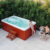 HS-S38 massage hottub outdoor spa pool sexy masage spa make in china