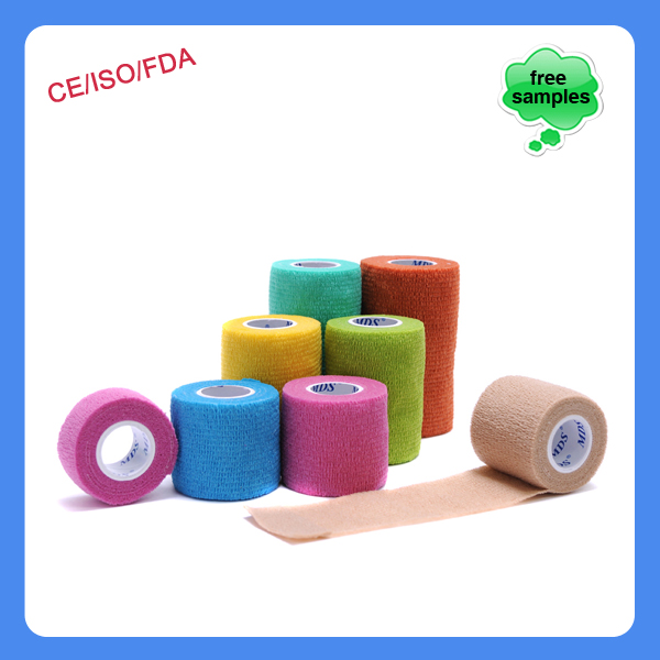 Medical cohesive bandage sports tape finger protectors self-adhesive bandage
