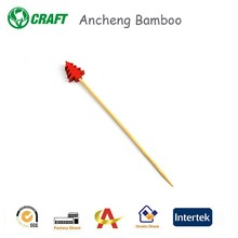 round sticks braided bamboo party pick with nice looking