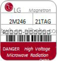 2m246 1050w lg industrial and original air cooling magnetron