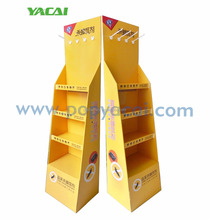 FSDU Cardboard paper floor display stand for store display