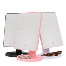 Beauty 180 Degrees Large LED Light Makeup Vanity Mirror