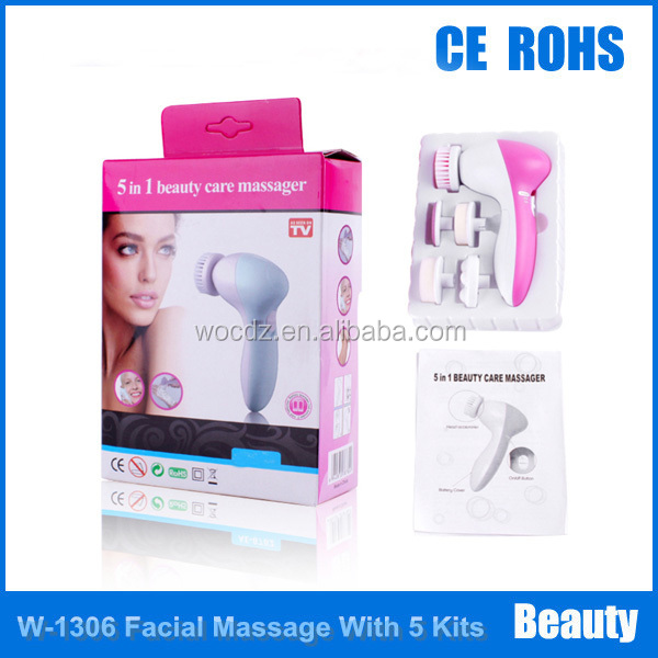 Mini Handy 5 Kits High Rotary Facial Massager