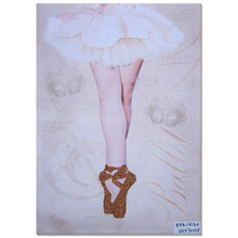 Modern ballerina girl printing canvas free sex picture women photo image sex nud