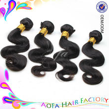 New arrival for 2015 6A grade 100% unprocessed overseas brazilian hair weave