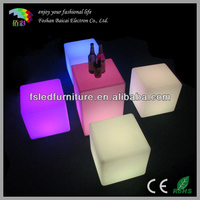 Flashing LED cube table ,Light up led cube furniture
