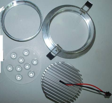 ceiling light 9W Aluminum component