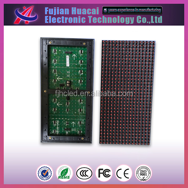 P10 waterproof programmable led display panel screen, p10 outdoor red led module led display module