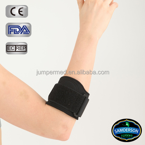 Sports Soft Pad golf elbow brace suitable for medical and lateral epicondylitis