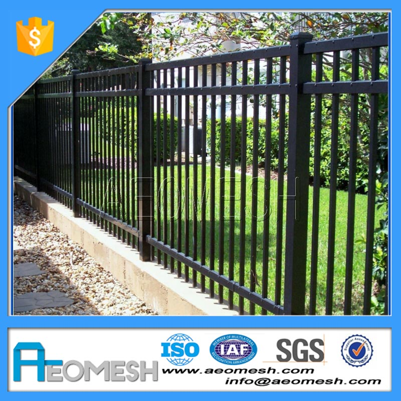 Made in Guangzhou Professional Factory Construction Residential Aluminum Fence