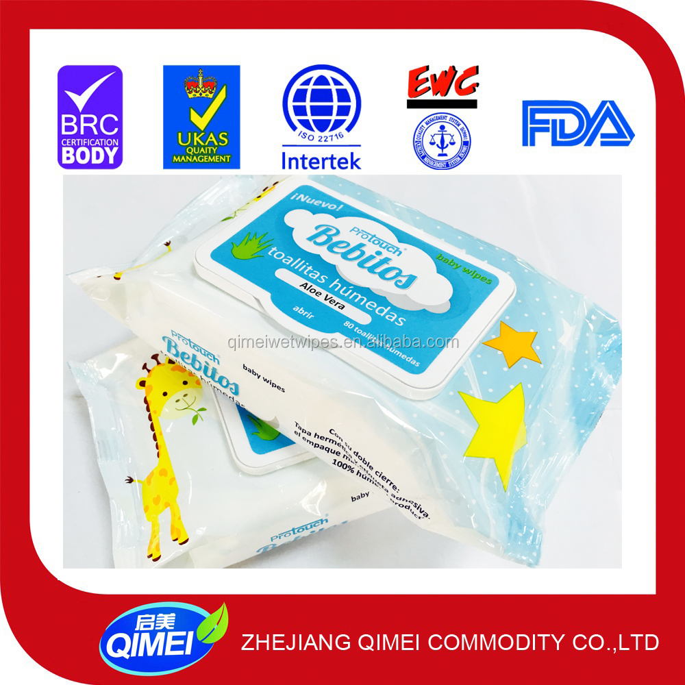 Antibacterial surface wipes biodegradable baby wipes