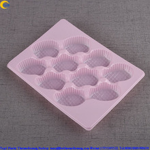 Food grade packaging for strawberry marshmallows pink pp tray