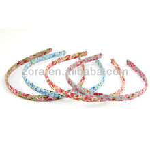 popular style fabric stretch baby headband hair accessories