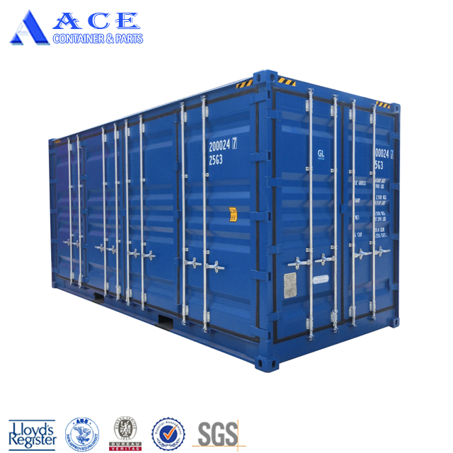 Manufacture CSC Certified New 20ft High Cube Side Opening Container Shipping