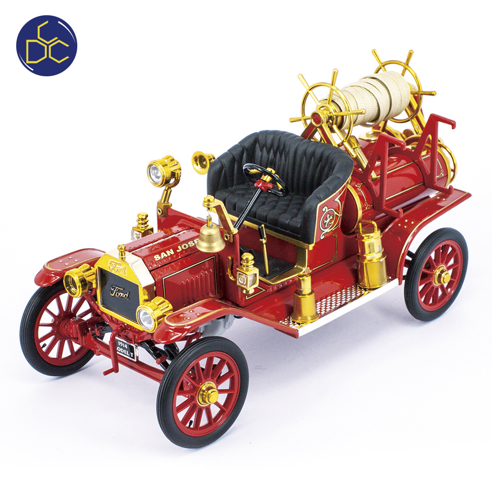 1914 FORD MODEL T FIRE ENGINE 1:18 diecast