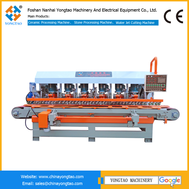 YTS-1200 6 heads automatic stone edge granite polishing machine price