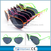 2014 New Style Cheap Aviator Promotional Metal Sunglasses