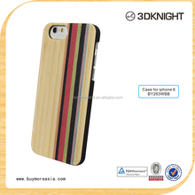 Handwork Wooden case for Apple I Phone 6 6s genuine wood mobile phone cover
