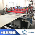Horserider brand plastic PVC foam sheet production line/ wood sawdust plastic composite celuka board making machine