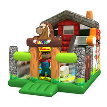 Farmhouse park cheap bounce house rental prices inflatable dry slide giant inflatable bouncer