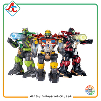 3PC RC fighting robot toy