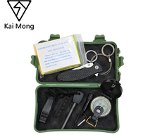 Emergency Gear Professional Multi Tool Sets Outdoor Camping Hiking Traveling 7 in 1 Survival Kit