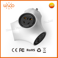 Safety plug wifi smart home automation remote control China supplier 13 amp switched socket