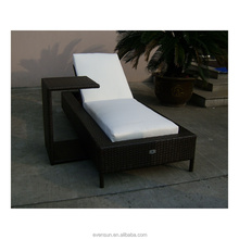 California folding Sun Lounger rattan garden furniture reclining