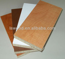 chipboard/melamine faced chipboard