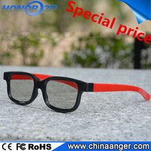 Factory directly sale high quality 3d glasses for TV & porjector