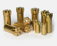 taper drilling tools and carbide button drill bits/chisel bits