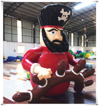 Giant Cartoon Characters Inflatable Pirate Model For Decorations