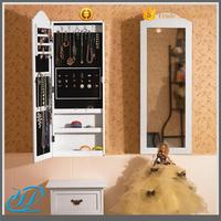 YL3019 Antique Wall Mounted Wall Hanging Mirror Jewelry Armoire with Mirror Cabinet to Store Jewelry Furniture