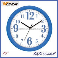 Plastic digital wall clock