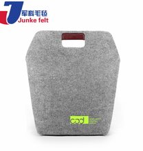 Plastic hard polyester nonwoven handmade felt for tissue box making materials for wholesales