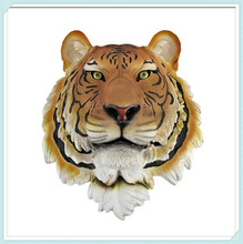 Mount wall statue bust resin tiger head sculpture