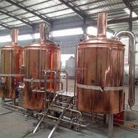 Luxury Pub Beer Brewery Equipment 100l