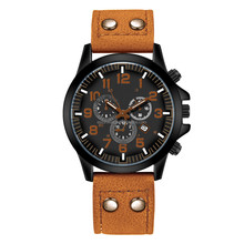 2018 New arrival custom brand luxury mens sport watch with private label leather watch