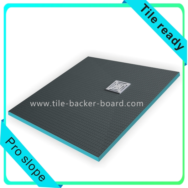 XPS core shower tray board