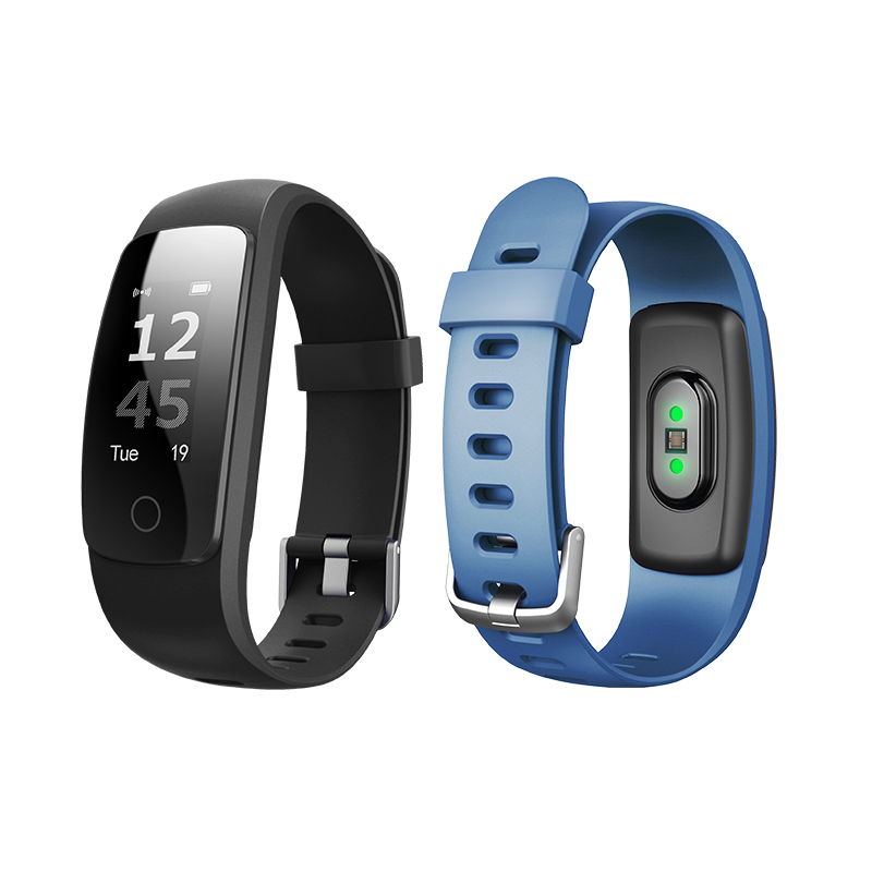 ID107 Plus HR Smart Band Bluetooth 4.0 VeryFit App Smart Bracelet Heart Rate Sleep Monitor multi sports 5 displays
