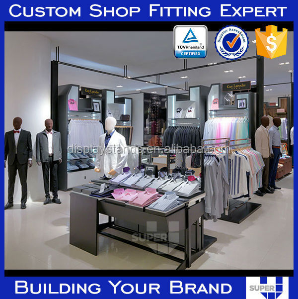 Good-looking belt stand display for clothes shop with professional design
