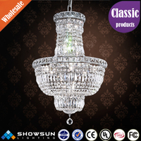 Guzhen hot sale economic crystal chandelier for decoration